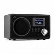 Auna IR-150, интернет радио, FM, DLNA, WLAN, ретро, дистанционно управление, дървена кутия (KC1-IR-150 TFT BK)