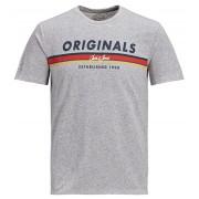 Jack&Jones Tricou pentru bărbați Tuco Tee Ss Crew Neck Light Grey Melange Slim M