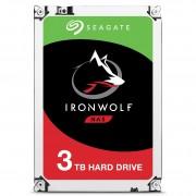 "Seagate IronWolf ST3000VN007 - Disco rígido - 3 TB - interna - 3.5"" - SATA 6Gb/s - 5900 rpm - buffer: 64 MB"