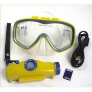 Спортна камера в очила за гмуркане