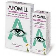 MONTEFARMACO OTC SPA Gocce Oculari Afomill Antiarrossamento 10 Fiale Monodose 0,5 Ml