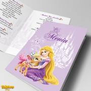 Meniuri pentru botez cu Rapunzel (Model 2)