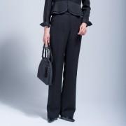 東京ソワール 濃染加工フォーマルパンツ【QVC】40代・50代レディースファッション