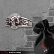 ETNOX gyűrű - Dark Skull - SR826