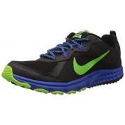 Nike Men's Wild Trail Black,Electric Green,Hyper Cobalt Outdoor Multisport Training Shoes -6 UK/India (40 EU)(7 US)