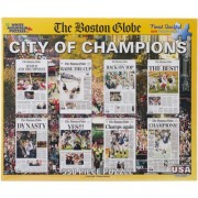 White Mountain Puzzles Boston City of Champions - 550 Piece Jigsaw Puzzle