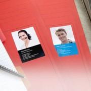 smartphoto Visitkortsklistermärken Liggende
