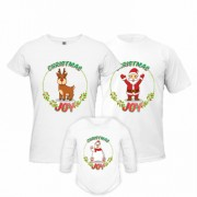 Set Tricouri Si Body Christmas Joy