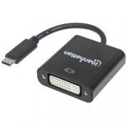 Manhattan Convertitore da USB-C™ a DVI