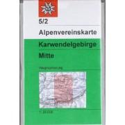Deutscher Alpenverein - DAV Alpenvereinskarte 05/2 Karwendelgebirge Mitte 1 : 25 000: Topographische Karte - Preis vom 02.04.2020 04:56:21 h