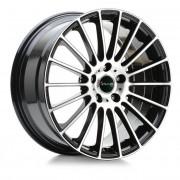 Avus Ac-m03 7x17 4x108 Et42 63.4 Black - Llanta De Aluminio