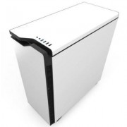 Кутия nzxt h440 white/black + window, mid tower, nzxt-case-h442w-w1
