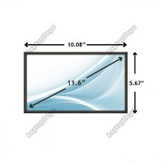 Display Laptop HP-Compaq PAVILION TOUCHSMART 11-E099ES 11.6 inch (LCD fara touchscreen)