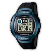 Ceas barbatesc Casio STANDARD W-210-1B Digital: 10-Year Battery