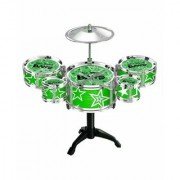 OH BABYBABYMini Jazz Drum Percussion Instruments Set Kit Musical Toys Random SE-ET-188