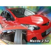 Deflektory komplet 4 ks pre MAZDA 2 , 2009-2014