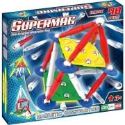 Set de constructie magnetic Supermag - Classic primary, 48 piese