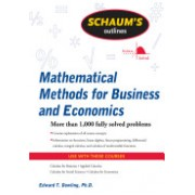 Schaum's Outline of Mathematical Methods for Business and Economics (Dowling Edward T.)(Paperback) (9780071635325)