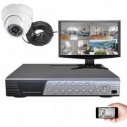 Kit vidéosurveillance Sony 1 dôme HD 700 lignes