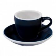 "Loveramics Espresso cup with a saucer Loveramics ""Egg Denim"", 80 ml"