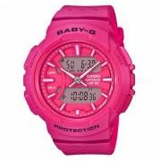 casio baby-g BGA-240-4A para reloj running series - rosa