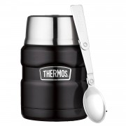 Thermos King voedselcontainer - 0,47 L - mat zwart