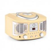 Auna RCD320 Retro-CD-Player UKW AUX creme