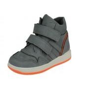 Freesby FreesBy halfhoge Jongens Klittenbandschoen - grijs,orange - Size: 25