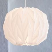 LE KLINT 157 large – hand-pleated hanging light