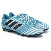 ADIDAS NEMEZIZ MESSI 17.4 FXG Football Shoes For Men(Blue, White)