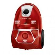Прахосмукачка Rowenta RO3953EA, с торба, 750 W, 3 л. капацитет на торбата, енергиен клас A, червена