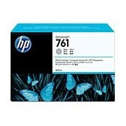 HP 761 Gray Designjet Ink Cartridge, 400-ml (CM995A)