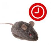 Kattenspeeltje Wild Mouse met Geluid en LED - 1 stuk