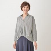 Coeur sucre スキッパーブラウス【QVC】40代・50代レディースファッション