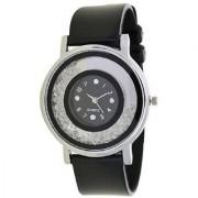 i DIVA'S black spingo watch for women