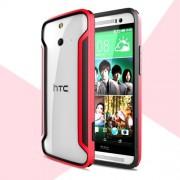 Nillkin армирана рамка (бъмпер) за HTC One (E8) Ace - червена