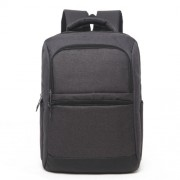 Universal Multi-Function Oxford Cloth Laptop Computer Shoulders Bag Business Backpack Students Bag Size: 42x30x11cm For 15.6 inch and Below Macbook Samsung Lenovo Sony DELL Alienware CHUWI ASUS HP(Black)