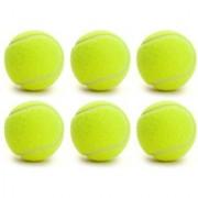 Tahiro Green Colour Cricket Ball - Pack Of 6
