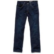 Carhartt Straight Fit Straight Leg Jeans Blå 34