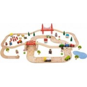 Jucarie educativa Big Jigs Rural Rail and Road