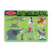 8 Piece Zoo Animals Sound Puzzle by Melissa & Doug