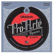 DAddario EJ45TT ProArte DynaCore Classical Guitar Strings Titanium Trebles Normal Tension
