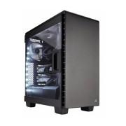 Gabinete Gamer Carbide 400C con Ventana, Midi-Tower, ATX/EATX/micro-ATX/mini-iTX, USB 3.0, sin Fuente, Negro