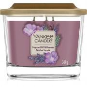 Yankee Candle Elevation Sugared Wildflowers vonná svíčka 347 g