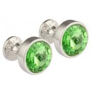 Mousie Bean Crystal Cufflinks Goblet 082 Peridot