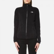 The North Face Women's 100 Glacier Full Zip Fleece - TNF Black - S - Black
