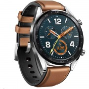 Acc. Bracelet Huawei Watch GT classic brown leather band