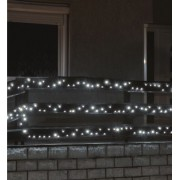 Kültéri LED fényfüzér 14 m 200 db hideg fehér LED KKL 200WH