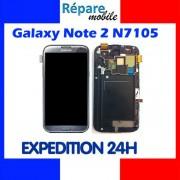 Original Ecran Complet Samsung Galaxy Note 2 N7105 Gris Titanium (Tactile + Écran Lcd)