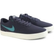 Nike SB CHECK SOLAR CNVS Sneakers For Men(Blue)
